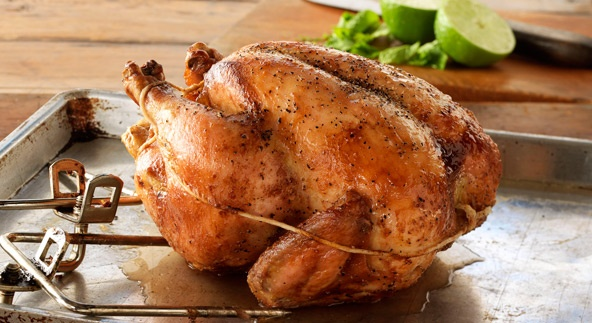 BBQ GRILLING #BBQ #Grilling Brined Rotisserie Chicken with Cuban Flavors