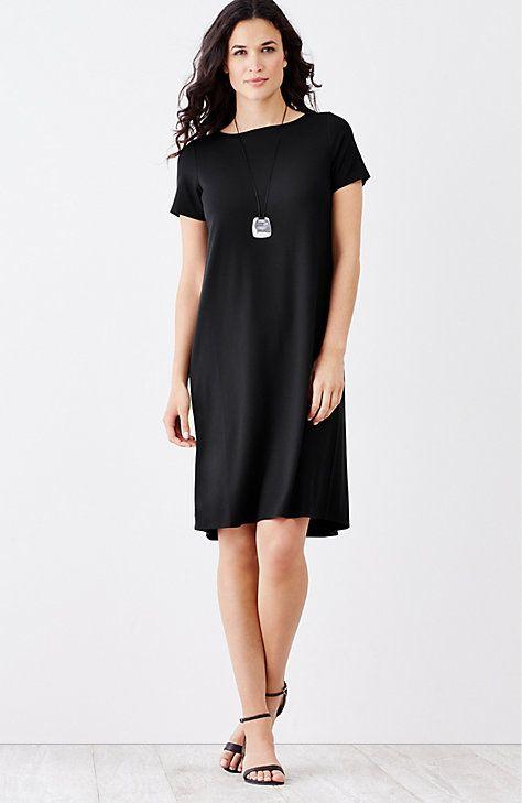 J jill black dress necklace