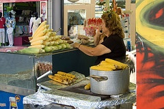 Sweetcorn Stall, Heraklion