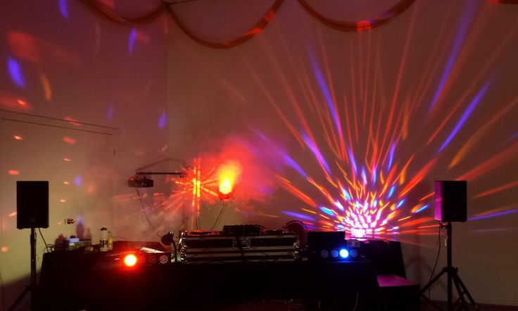 DJs function and events lighting