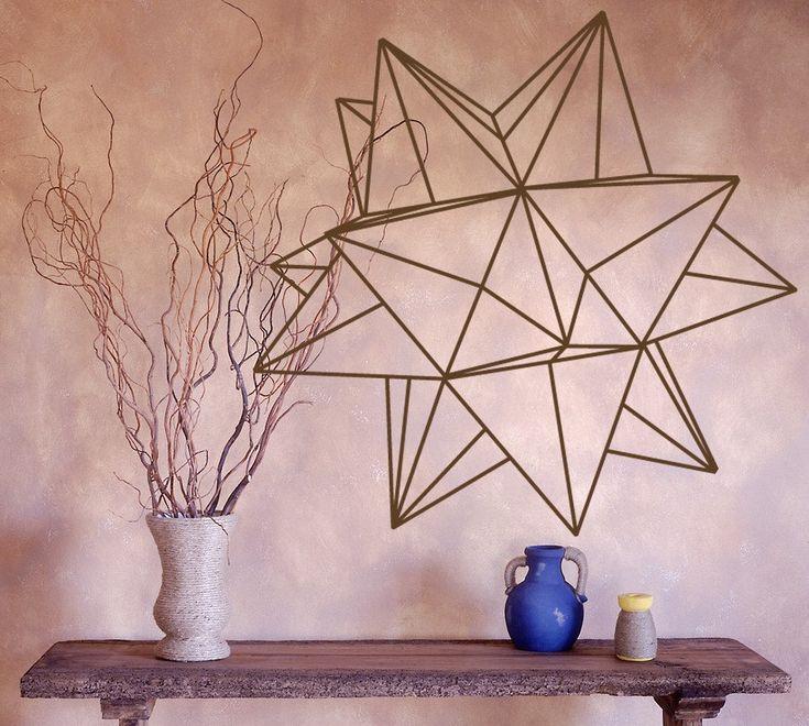 45 best washi tape images on pinterest sacred geometry for Washi tape wall art