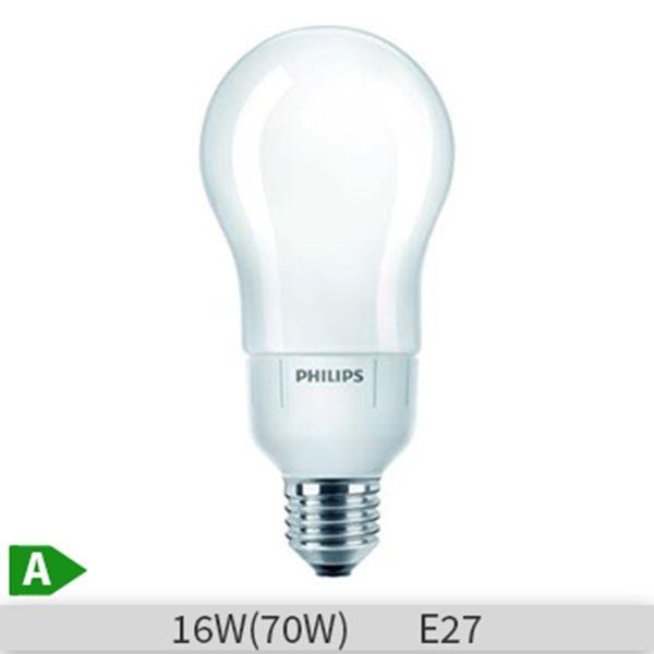 Bec economic Philips Master Softone, forma clasica, 16W, E27, 10000 ore, lumina calda, dimmabil http://www.etbm.ro/becuri-economice