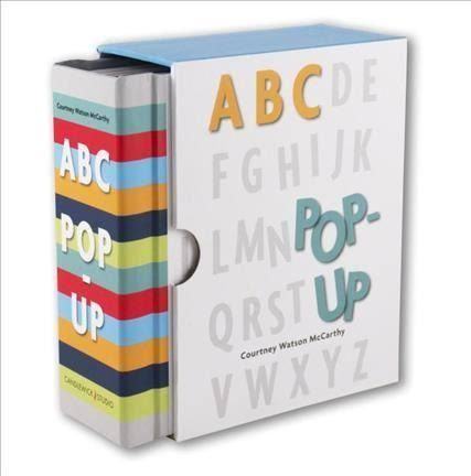 ABC Pop Up book isthe pop-up book to rival all pop-up books! This collectible Alphabet pop-up is for design connoisseurs of all ages.