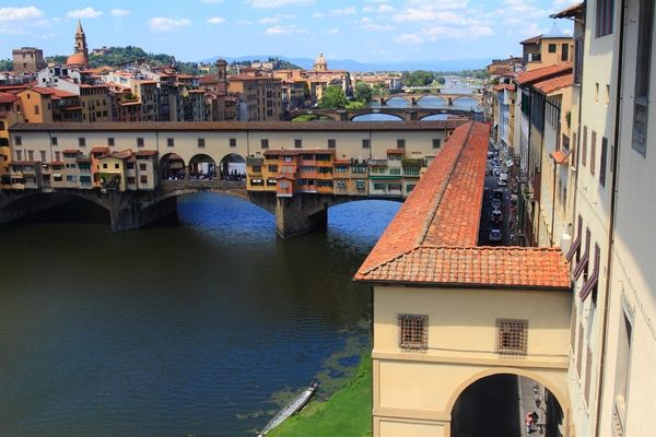 View at Ponte Veccio, Florence
