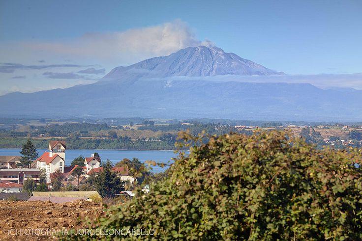 Today - Volcan Calbuco (Puerto Varas - Chile)