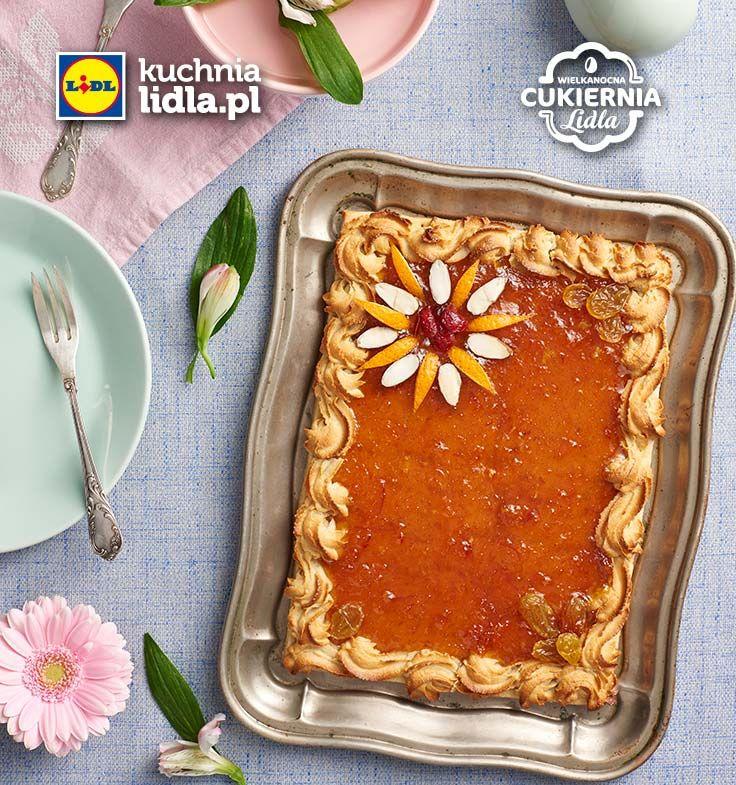 Mazurek pomarańczowy. Kuchnia Lidla - Lidl Polska. #lidl #mazurek #pawel #easter