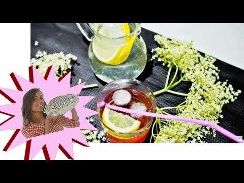 Sciroppo di Sambuco - Diuretico Naturale Rinfrescante - Le Ricette di Alice - YouTube