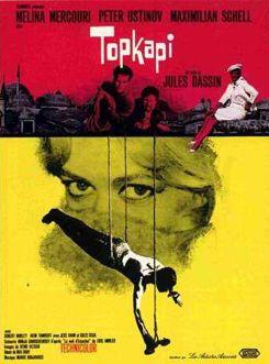 Topkapi - Jules Dassin - 1964 / Joe Dassin acteur