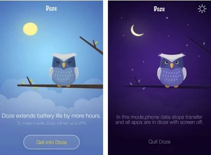 """A new app called """"Doze"""" which gives all the features of MarshMallow Doze Battery Saver Option. You can install it and experience the MarshMallow Doze feature on your devices running on Android Lollipop.more @ http://www.techtolead.com/get-android-marshmallow-doze-battery-saver-option-in-lollipop/3240/"""