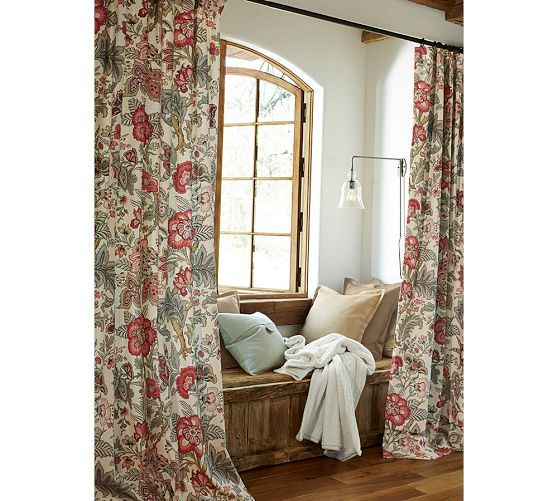 Allegra Palampore Drape Pottery Barn New House