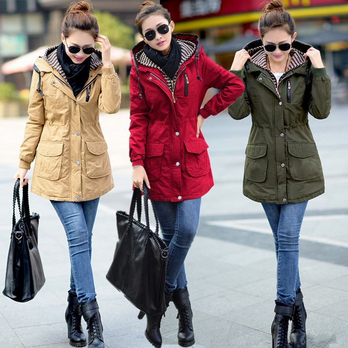 Find More Wool & Blends Information about L XXXL plus size autumn winter women long jacket hooded collar patchwork outerwear loose overcoat casual wind coat NWT222,High Quality coat han,China coat lamb Suppliers, Cheap coat blazer from Best Quality & Best Service on Aliexpress.com