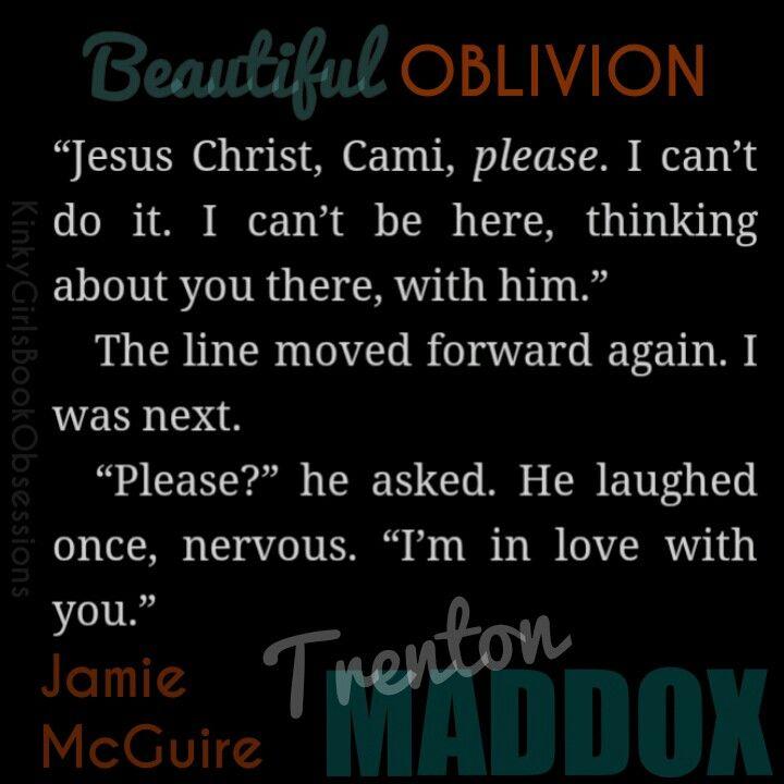Beautiful Oblivion - Trenton Maddox