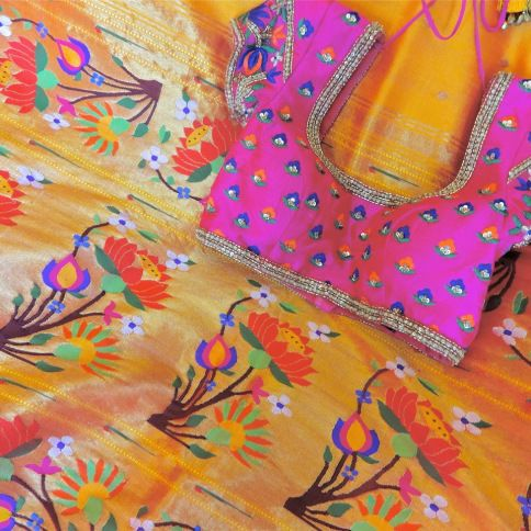 Wedding sari outfit photography overall