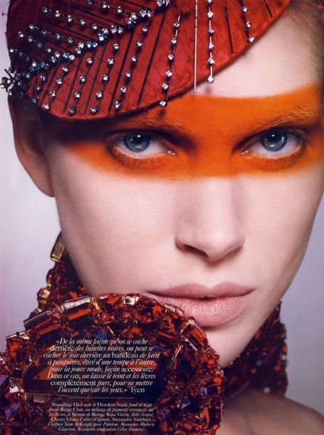 Vogue Paris June/July 2010 | Hair by Sam McKnight, Styled by Emmanuelle Alt // #beauty #editorial