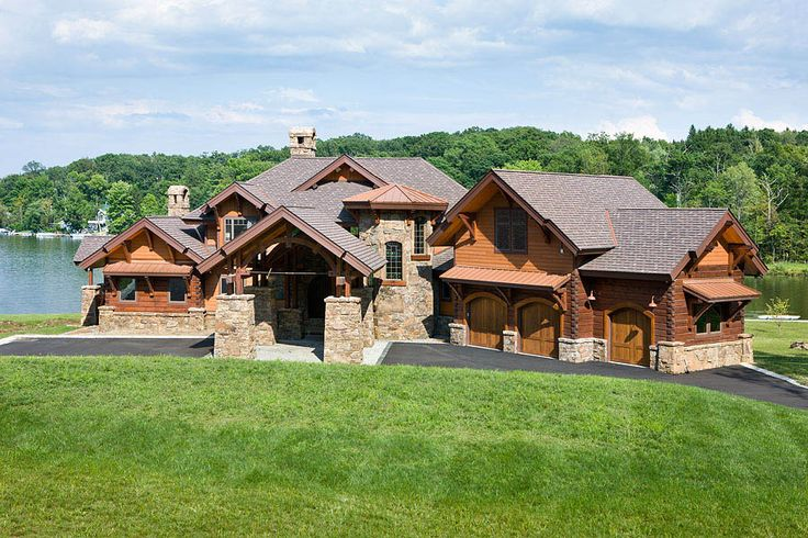 1000 ideas about log homes exterior on pinterest log for Log and stone homes