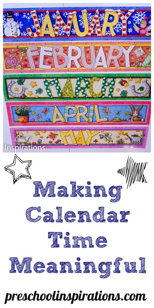 Kindergarten Calendar Center : Best images about calendar activities for kids on
