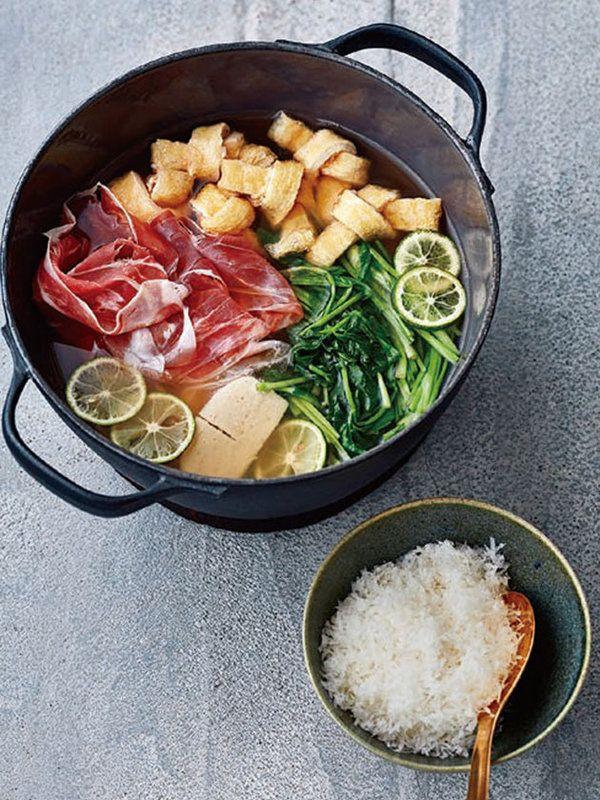 「グラナ・パダーノ×パルマハム」で作る、イタリアン和食  【12月31日】パルマハムのしゃぶしゃぶ鍋