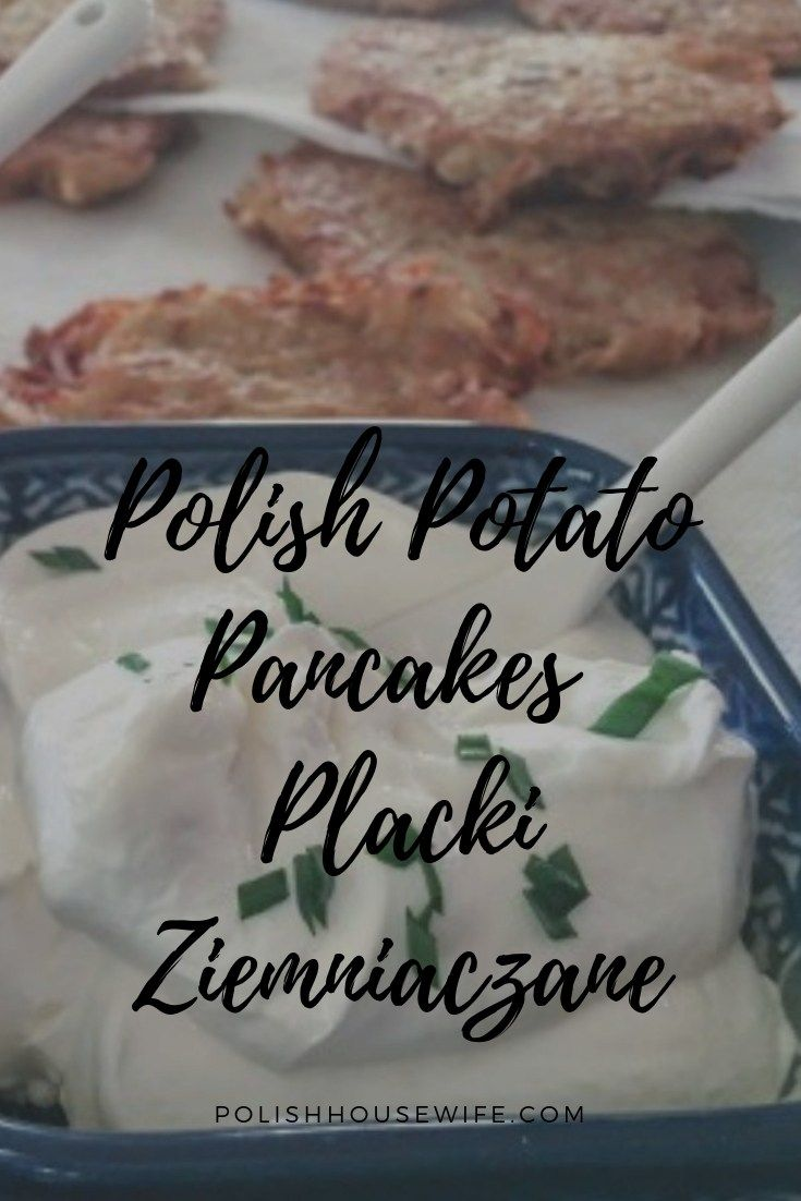 Try authentic Polish potato pancakes made easy with a food processor #polish #re…