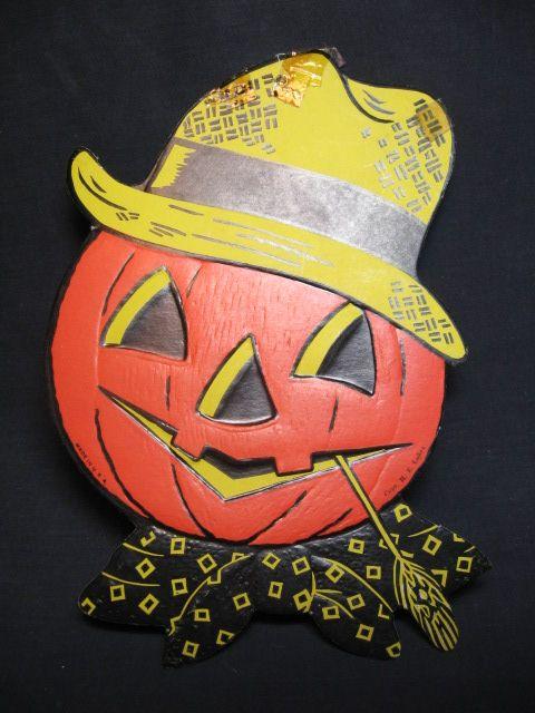 86 best Vintage Halloween images on Pinterest | Vintage halloween ...