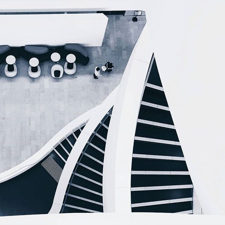 Minimal Monday: Staircase layers at the Charles Perkins Centre, USYD - [[photo by @alishagore , thank you for tagging #fjmt and taking this wonderful shot!]]