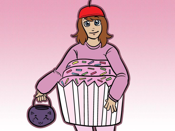 How to Make a Cupcake Costume -- via wikiHow.com