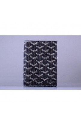 Goyard Passport Case Black