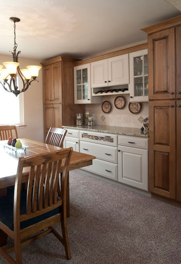 Kitchen Remodel Designed By Jan Neiges Of Kitchen Traditions Of Colorado In  Denver, CO.