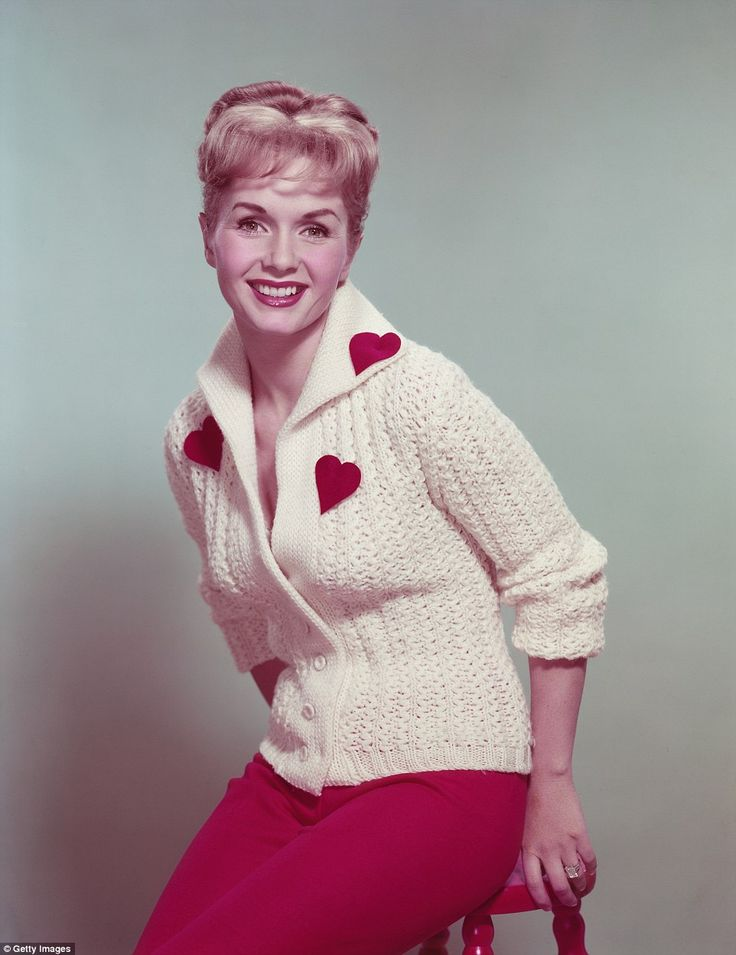 Reynolds, who rose to stardom in the film Singin' In the Rain, appeared in dozens of films, as she was the vivacious actress, dancer and pop star millions of fans loved. She is pictured above in 1955