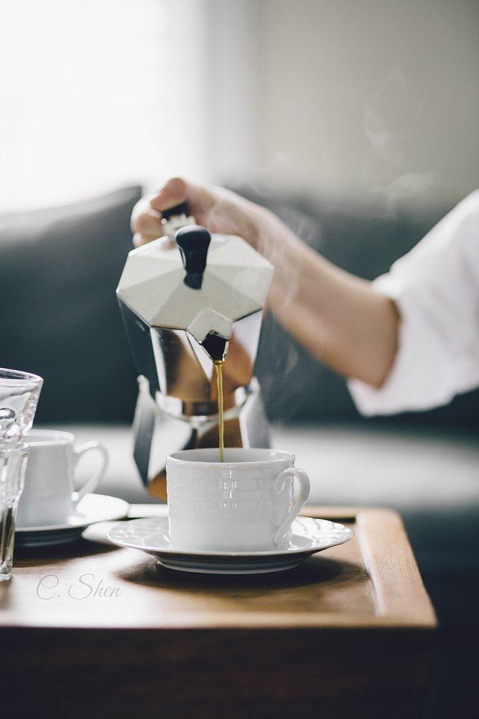 Coffee percolator. Its a ritual that makes morning magical.