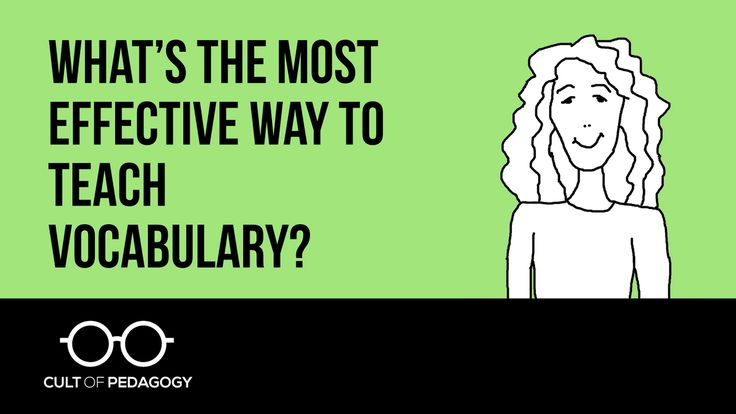 There are many different approaches to vocabulary instruction. What does the research say about best practices? Periscope broadcast on April 19, 2016. Find more fantastic resources for teachers at http://www.cultofpedagogy.com