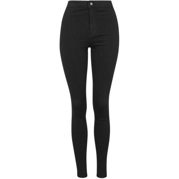 TopShop Petite Hold Power Joni Jeans (490 SEK) ❤ liked on Polyvore featuring jeans, pants, bottoms, calças, pantalones, blue black, super skinny jeans, super high-waisted skinny jeans, high waisted stretch jeans and high-waisted skinny jeans