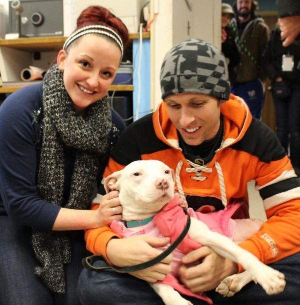 Dog Who Was Hit By Train Takes Up Residence In The Heart And Home Of Cop Who Rescued Her