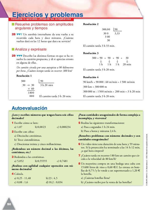 Pin Op Matematicas