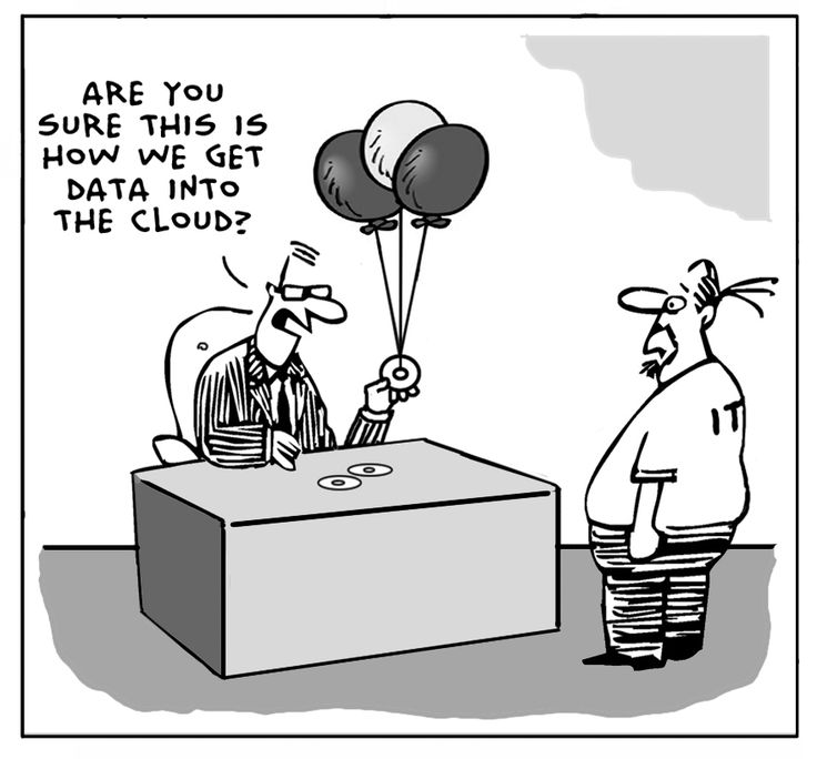 Are you sure this is how we get data into the cloud?
