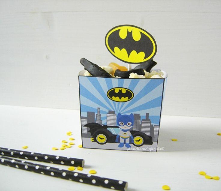 Batman traktatie bakje