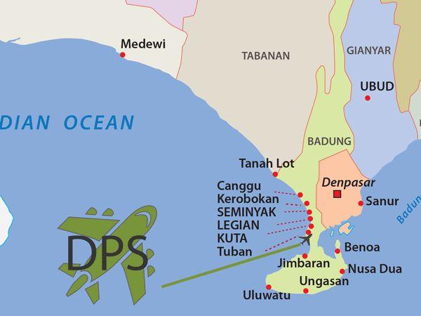 Bali Airport DPS Ngurah Rai, Denpasar
