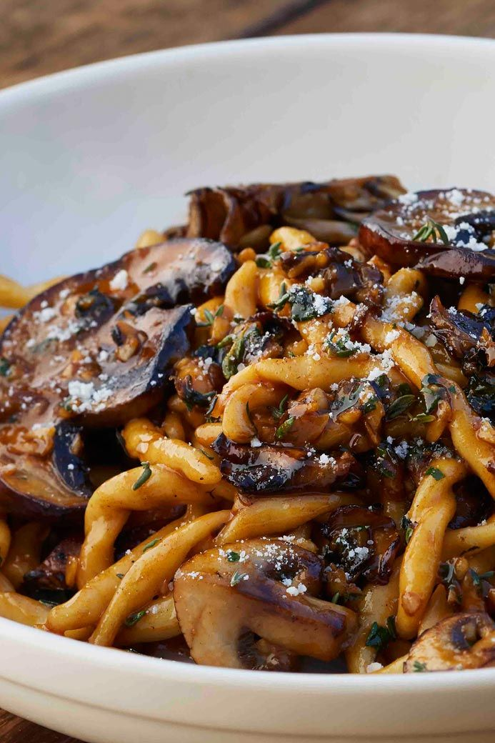 Wild Mushroom Strozzapreti @ California Pizza Kitchen