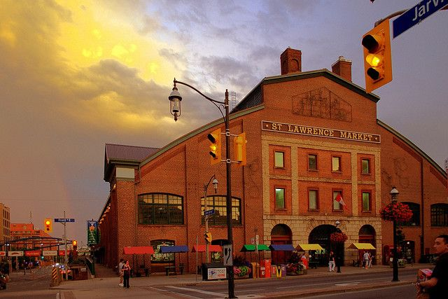 The St Lawrence Market in Toronto