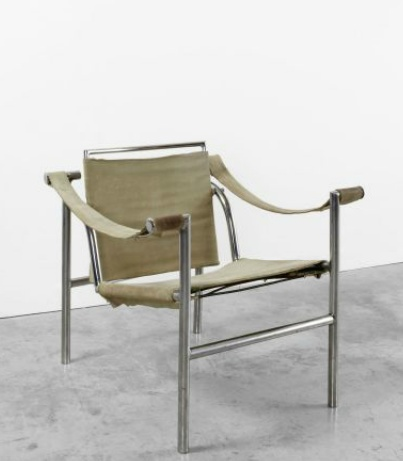 Fauteuil dossier basculant b301 thonet designed by le for Le corbusier meuble
