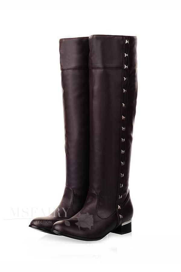 discount bootsSexy, stylish, feminine boots, fluff out there looks warm and lovely, you deserve