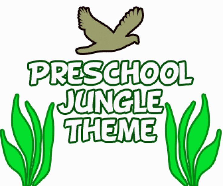 Preschool Jungle Theme Activities