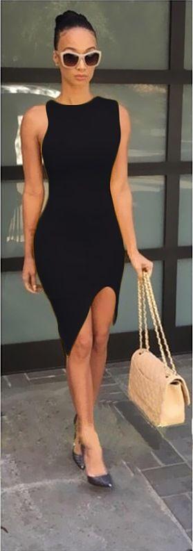 Özel Tasarım Asimetrik Elbise