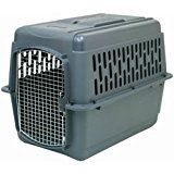 Petmate Pet Porter 2 Kennel For Pets 50-70 Pounds  Dark Gray