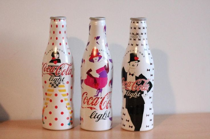 3 Coca Cola Bottles Marc Jacobs Edition Collection Biu Now On
