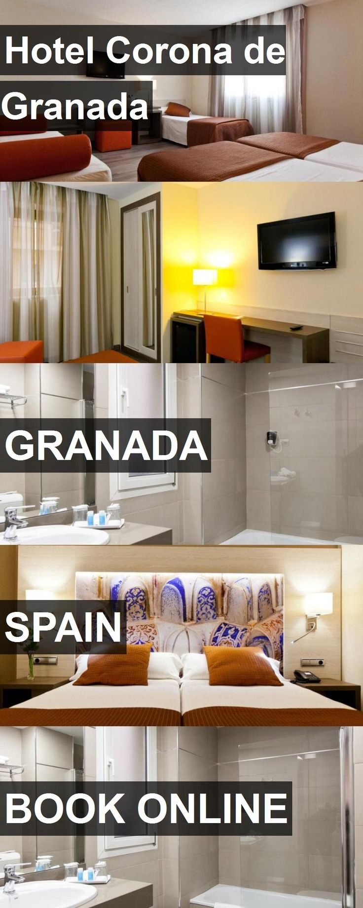 Hotel Corona de Granada in Granada, Spain. For more information, photos, reviews and best prices please follow the link. #Spain #Granada #travel #vacation #hotel