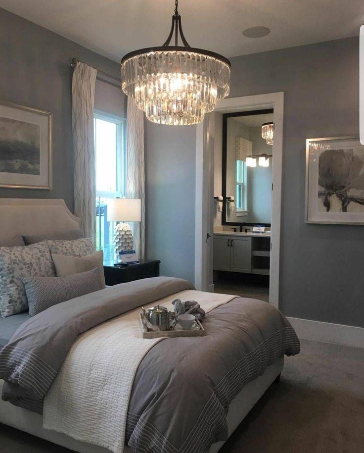 "Polubienia: 6,410, komentarze: 260 – Grace R (@lovefordesigns) na Instagramie: ""Which bedroom is your favorite, 1 or 2? . Via @progressltg #lovefordesigns#homedecor…"" #BeddingMasterBedroom"