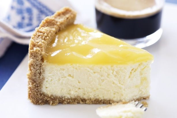 Delightfully rich and creamy, this three-step cheesecake makes a luscious dessert.