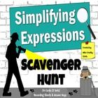 This packet includes two (2) versions of the Simplifying Expressions Scavenger Hunt activity - a total of 24 cards. By having two sets of cards wit...