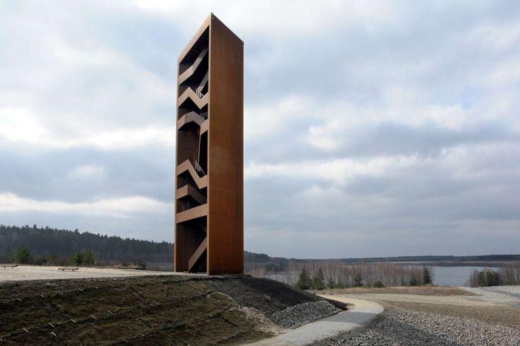 Landmarke Lausitzer Seenland, Germany by Architektur & Landschaft Stefan Giers