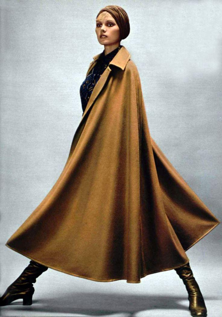 Collection Pret a Porter, Yves Saint Laurent Rive Gauche, 1971 #vintage @smokyrags                                                                                                                                                     More